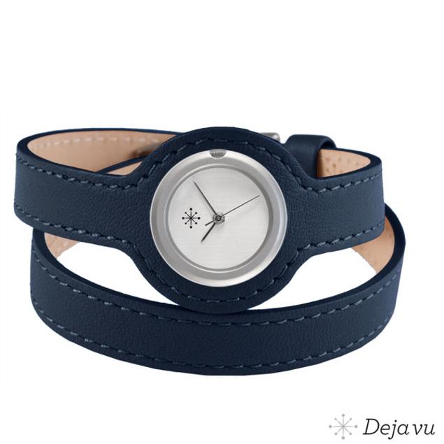 Afbeeldingen van Saffierblauw - wikkelband
